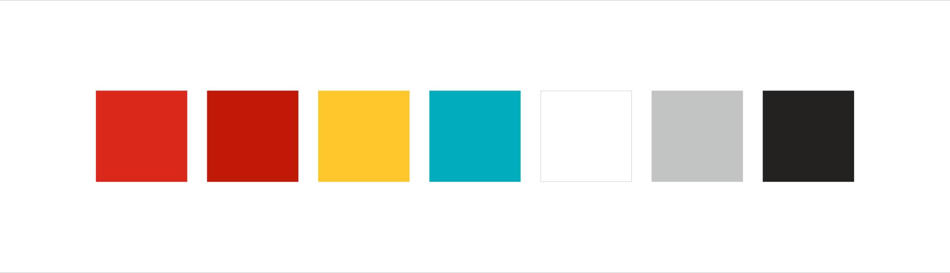 Color palettes.